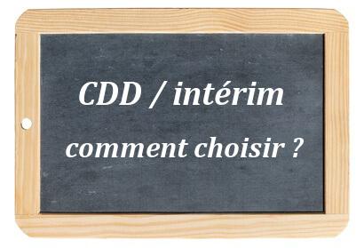 CDD ou Intérim ? Easyjob t'aides à choisir !